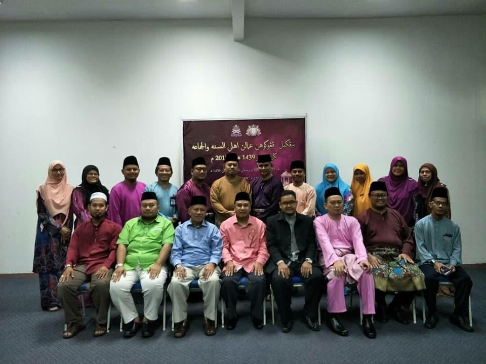 Bengkel Pengukuhan Amalan Ahli Sunnah Wal Jamaah (ASWAJA) Tahun 2018/1439H yang diadakan pada 22-24 Mei 2018 diMPC Bandar Baru Uda, Johor Bahru