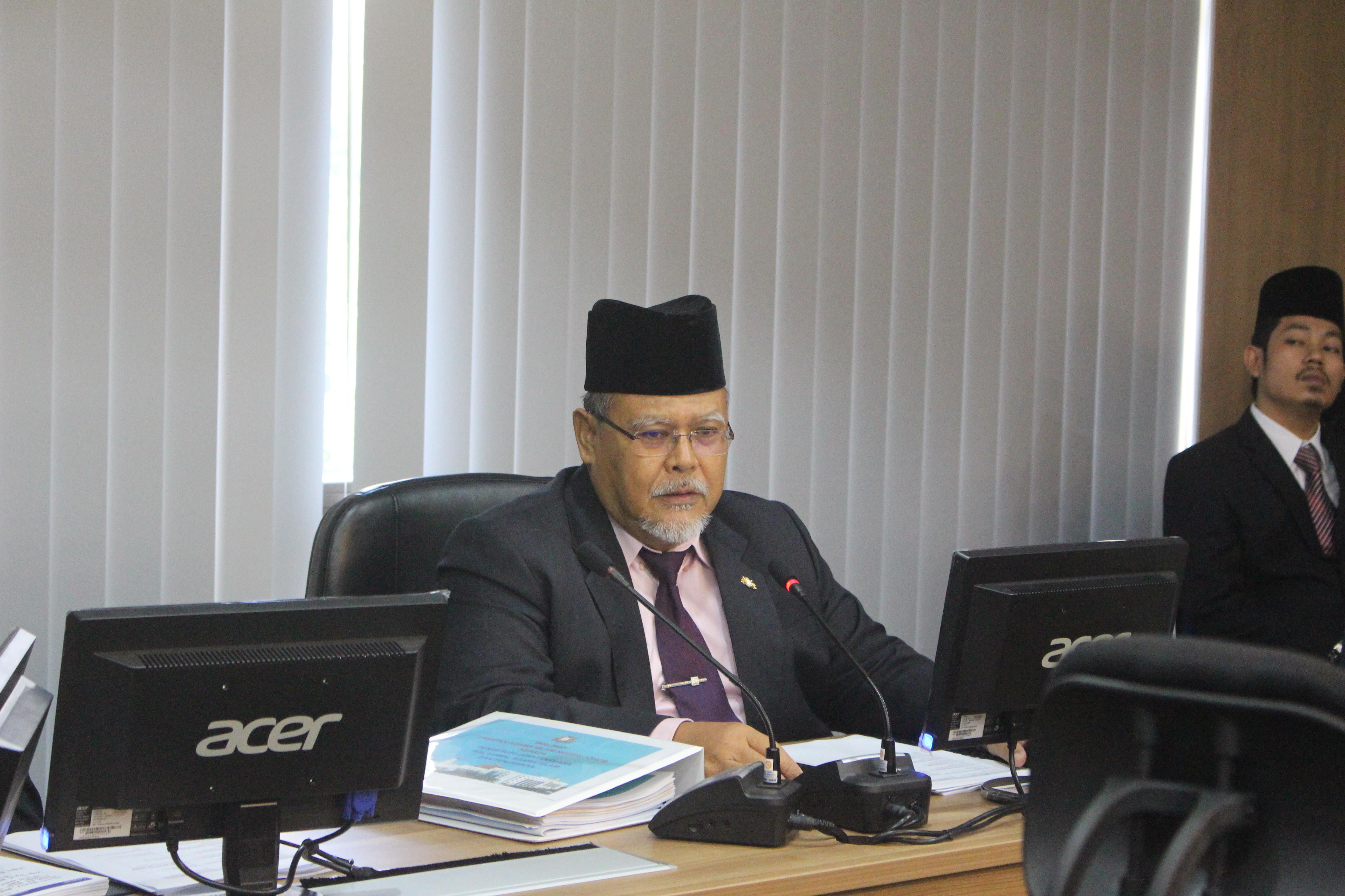 Taklimat kepada Pengerusi Jawatankuasa Hal Ehwal Agama Islam & Pendidikan Islam Negeri Johor pada 22 Mei 2018