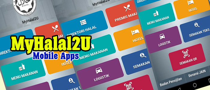 MYHalal2U - Mobile Apps