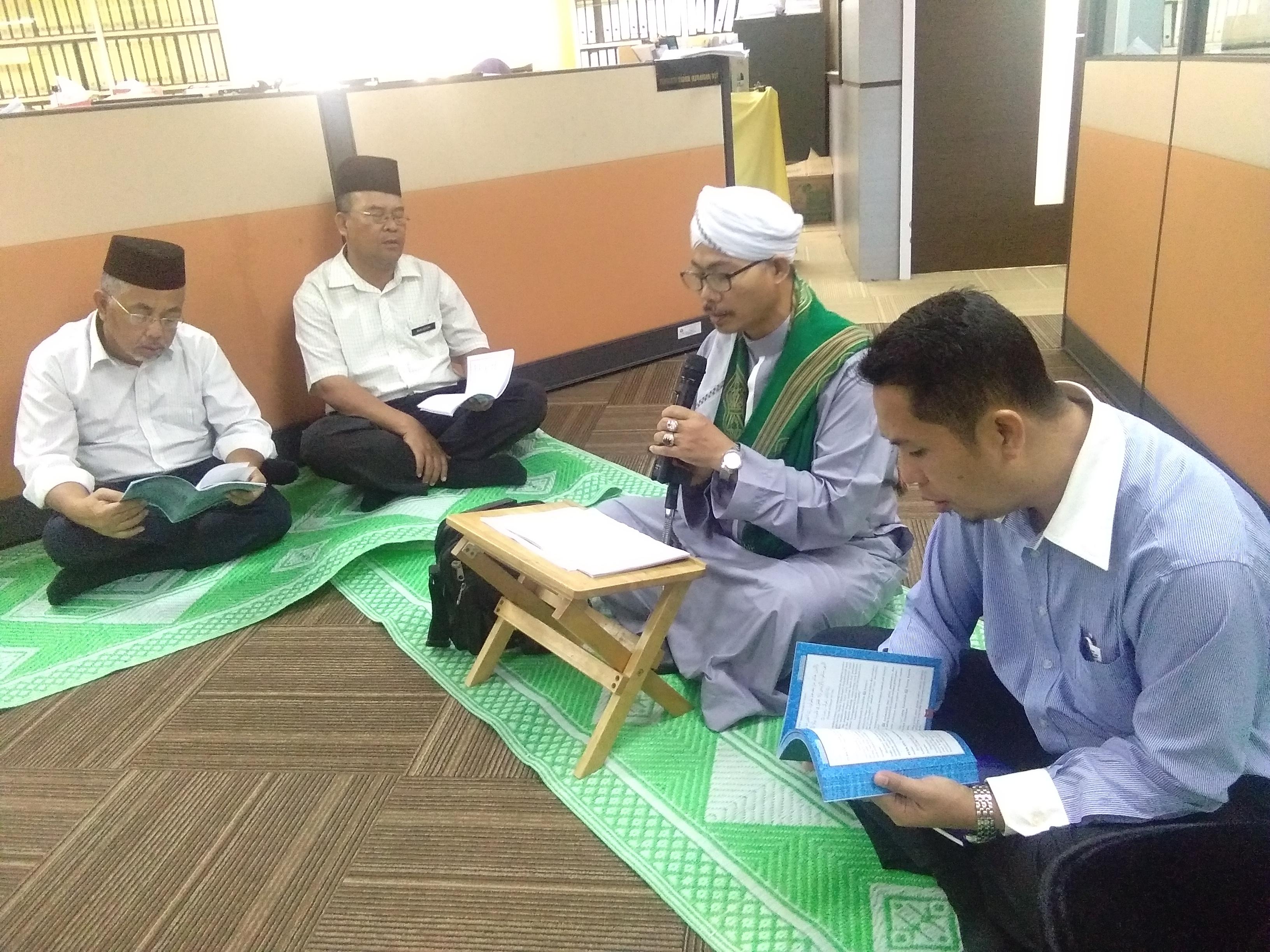 Majlis Asma Ul-Husna dan Majlis Tahlil sempena menyambut Ramadhan 1439H Bahagian Khidmat Pengurusan Jabatan Agama Islam Negeri Johor pada 15 Mei 2018