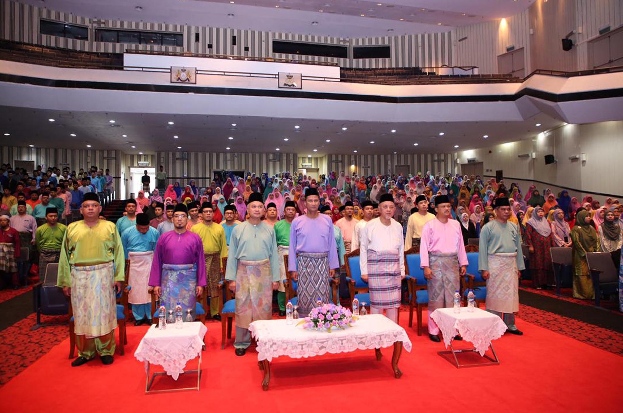 Majlis Perhimpunan Pagi dan Pelancaran Ekosistem Kondusif Sektor Awam (EKSA) Jabatan Agama Islam Negeri Johor pada 04 Oktober 2018