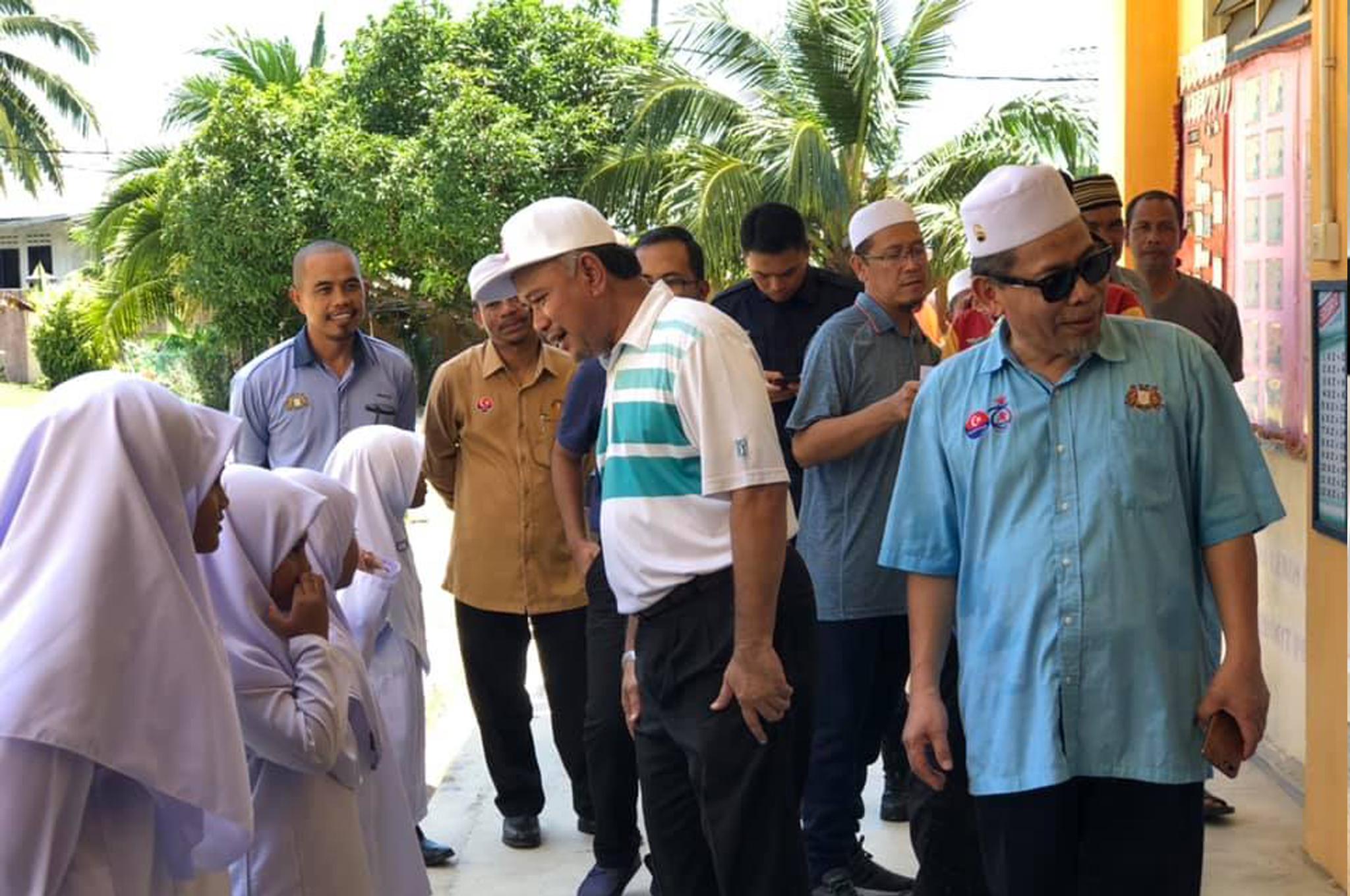 Lawatan Kerja Pengarah Jabatan Agama Islam Negeri Johor Ke Sekolah Agama Kerajaan Johor Daerah Mersing (Pulau Aur & Pulau Pemanggil), Johor.