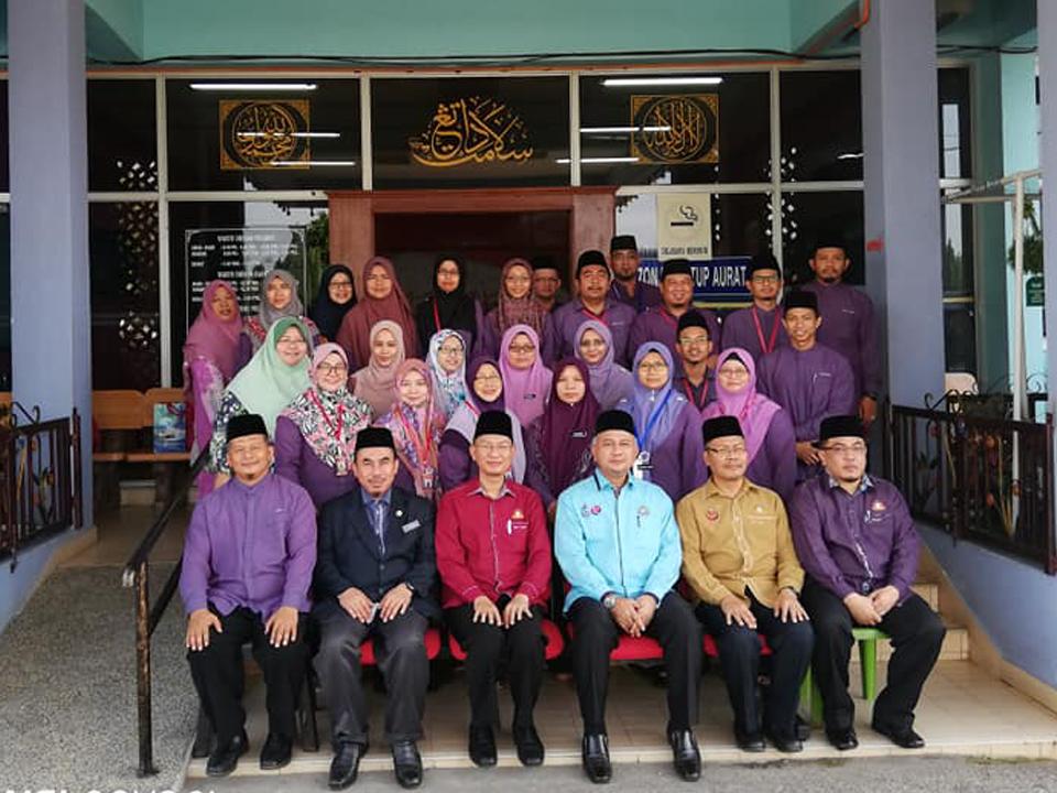 Lawatan Pengauditan EKSA kali ke-2 di Pejabat Kadi daerah Muar & Pejabat Pendidikan Islam daerah Muar bersama Pengarah Jabatan Agama Islam Negeri Johor pada20 Januari 2019.