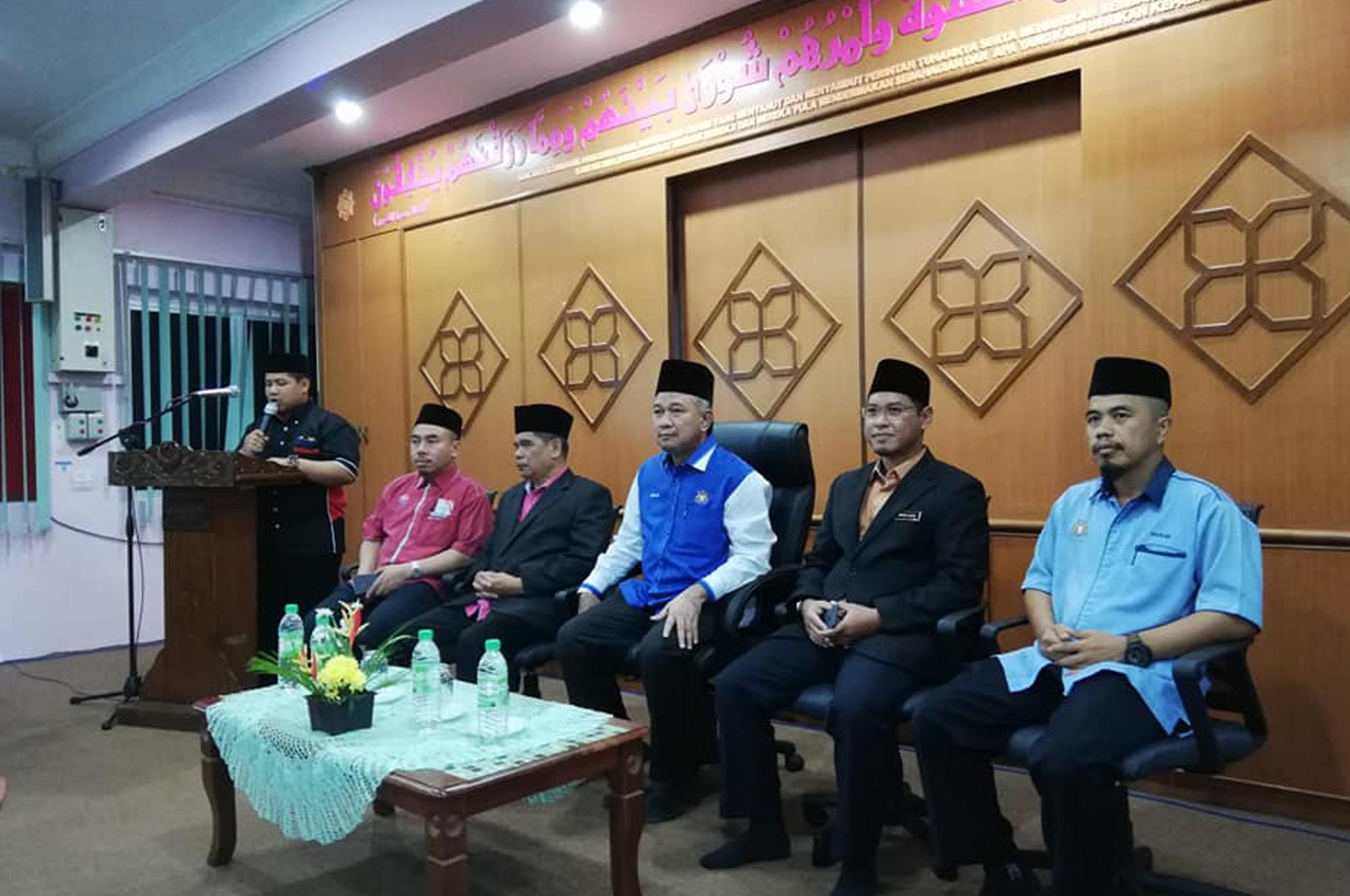 Lawatan Pengauditan EKSA kali ke-2 di Pejabat Kadi daerah Mersing bersama Pengarah Jabatan Agama Islam Negeri Johor pada27 Januari 2019.