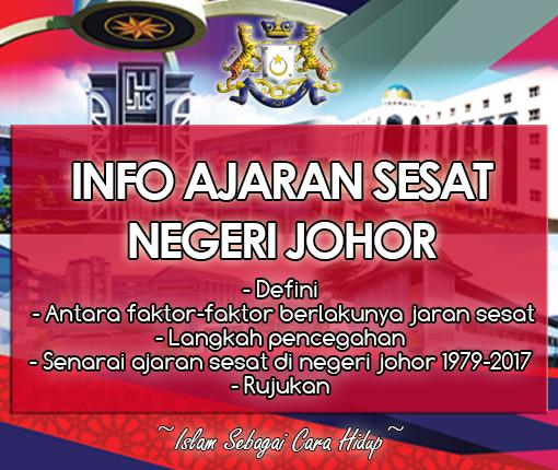Ajaran Sesat di Negeri Johor