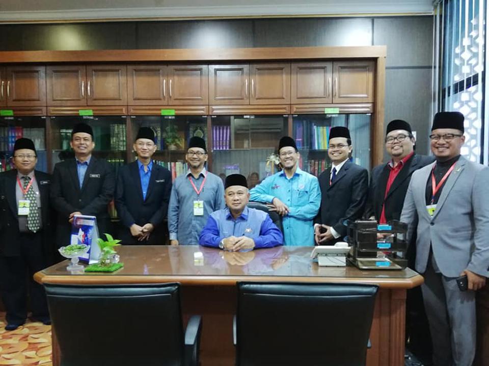 Lawatan Pengauditan EKSA kali ke-2 di Pejabat Kadi daerah Segamat & Pejabat Pendidikan Islam daerah Segamat bersama Pengarah Jabatan Agama Islam Negeri Johor pada16 Januari 2019.