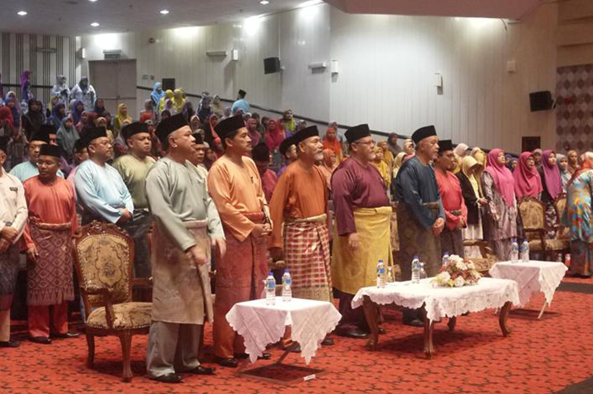 Majlis Perhimpunan Pagi Pusat Islam Iskandar Johor bagi bulan November dan Majlis Budimu Dikenang pada 01 November 2018