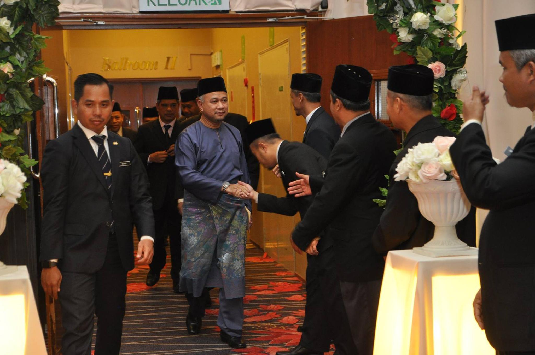 Majlis Persaraan Pegawai Dan Anggota BPI JAINJ pada 14 November 2018