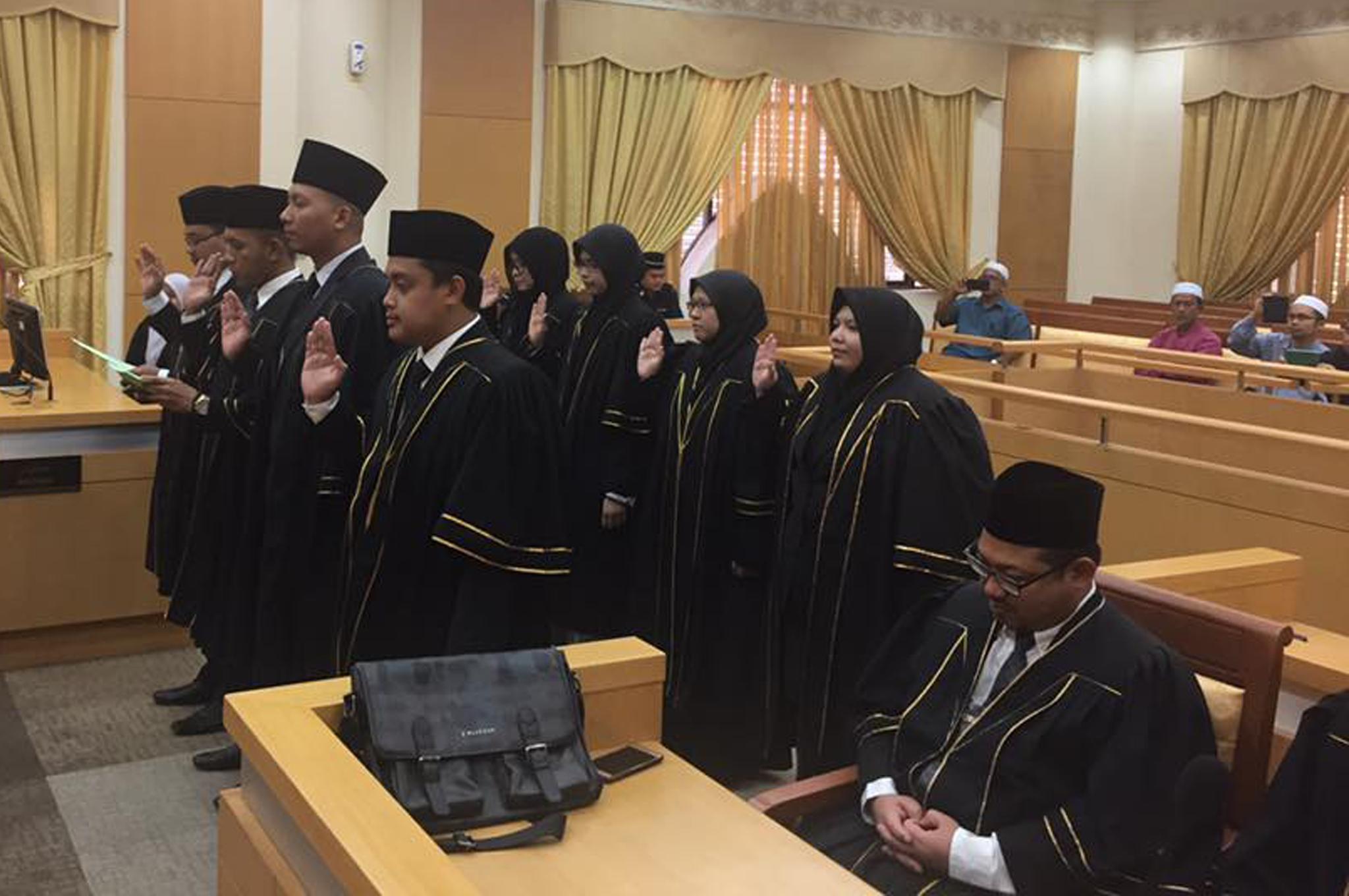 Majlis Penyampaian Sijil Peguam Syarie (Peguam Baru) dan Sijil Amalan Guaman Syarie Negeri Johor Tahun 2019 pada 03 Januari 2019.