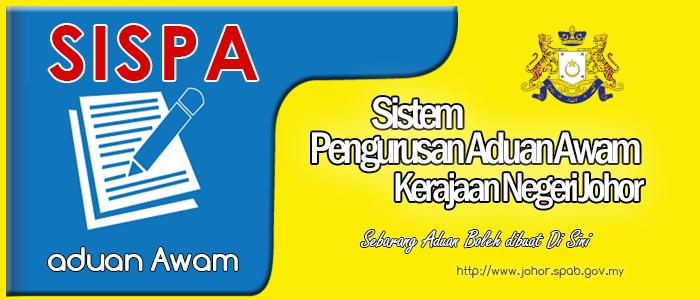 Sistem Pengurusan Aduan Awam Kerajaan Negeri Johor