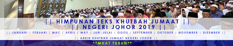 Ekhutbah 2019 Portal Rasmi Jabatan Agama Islam Negeri Johor